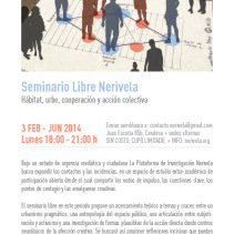 Seminario Libre Nerivela I: Hábitat, urbe, cooperación y acción colectiva