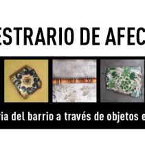 Muestrario de afectos – Museo de Geología, UNAM (abril – mayo 2014)